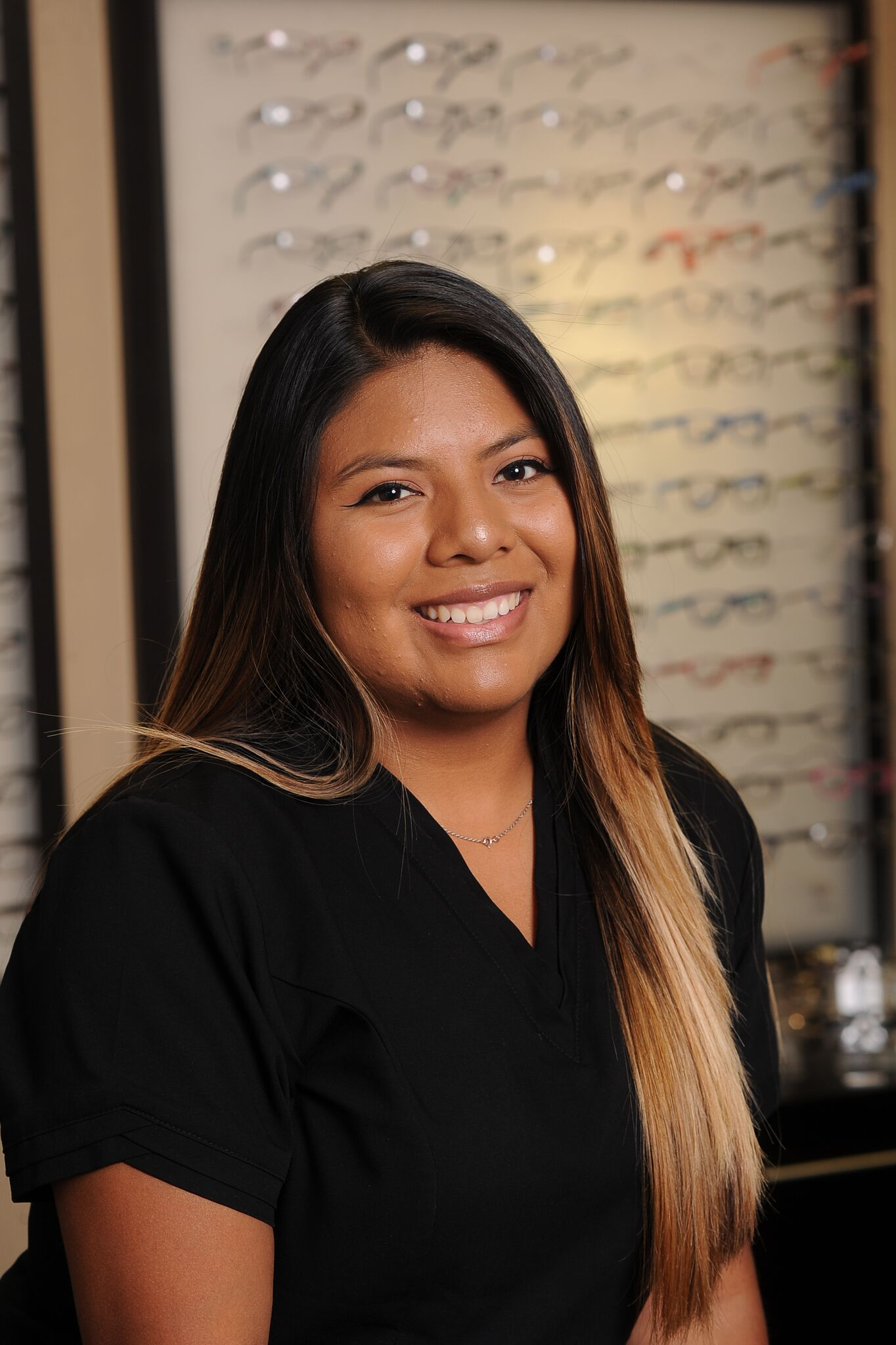 Hello, my name is Ayleen and I will take you through the pre-testing room prior to your eye exam with Dr. Smith.  I am currently enrolled in college and aspire to become a nurse. Dr. Smith\'s office has allowed me the great opportunity to grow and learn new things everyday I am there. I have a passion for helping patients truly understand the test procedures and results before the doctor conducts the exam.  I look forward to meeting you during your next visit!