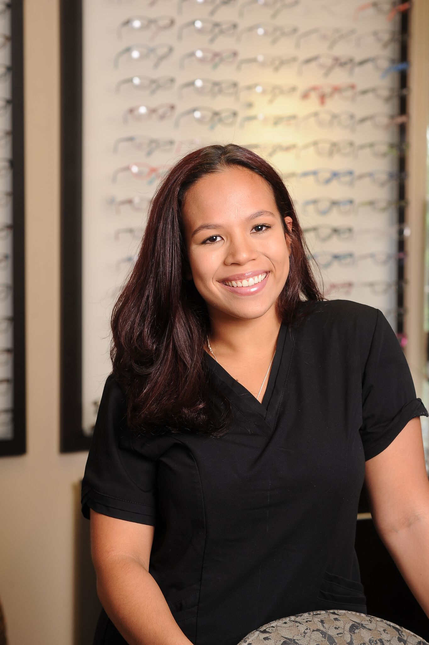 Hi my name is Erica. I am a college student and aspire to a career in health sciences.  I may take you through your preliminary testing before you see the doctor.  I love all the different responsibilities I have been given to make sure our busy office runs smoothly.  I now wear the GVSS lenses ( over night retainers) to correct my nearsighted eyes and I can truly say they're amazing!  Please ask me about them when you come in for next appointment.